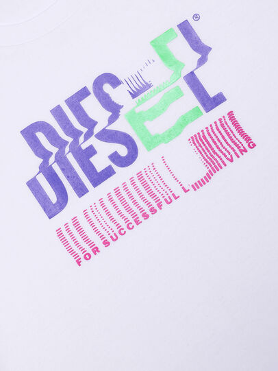 Diesel - TSILYKLIV, Weiß - T-Shirts und Tops - Image 3