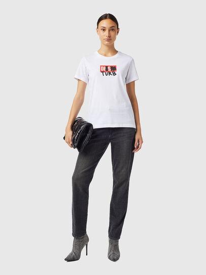 Diesel - T-SILY-B6, Weiß - T-Shirts - Image 4
