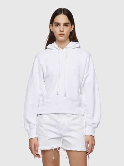 Diesel - F-LYM-HOOD-C.C, Weiß - Sweatshirts - Image 1