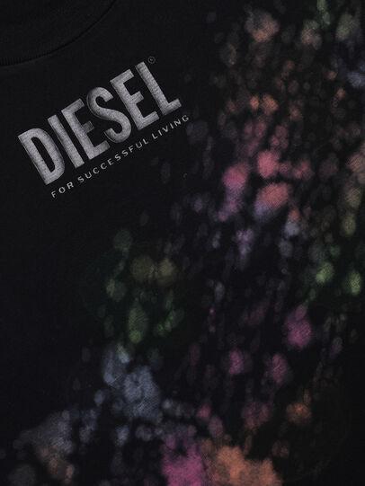 Diesel - TJUSTA40 OVER, Schwarz - T-Shirts und Tops - Image 3