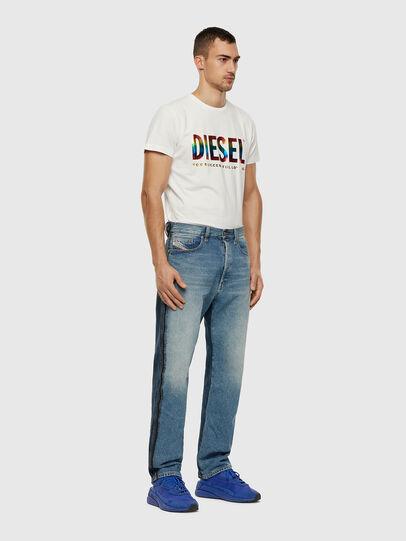Diesel - BMOWT-DIEGO-NEW-P, Weiß - T-Shirts - Image 3