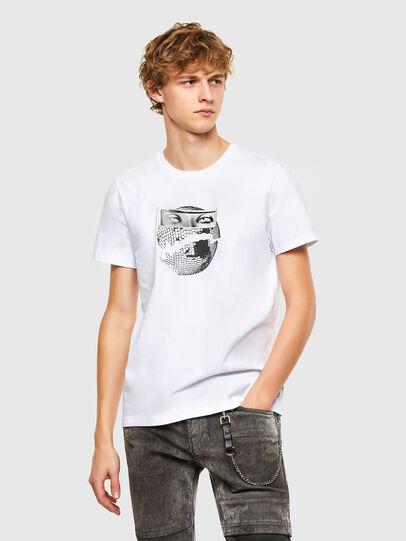Diesel - T-INO, Weiß - T-Shirts - Image 1