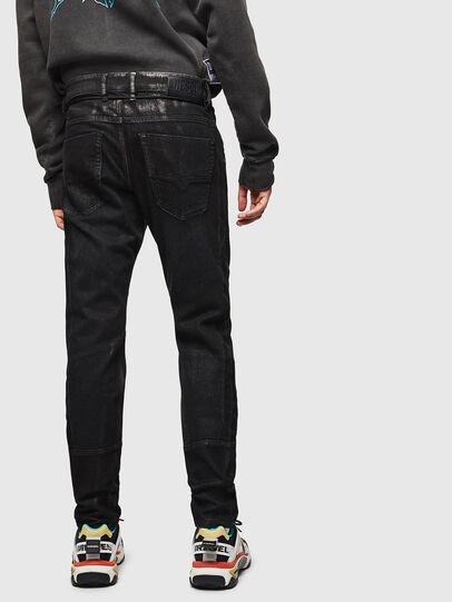 Diesel - D-Luhic JoggJeans 0092W, Schwarz/Dunkelgrau - Jeans - Image 2