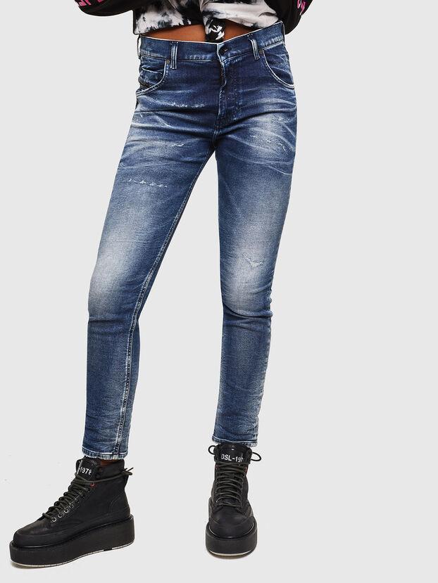 Krailey JoggJeans 0096M, Dunkelblau - Jeans