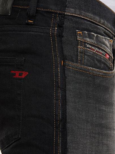 Diesel - D-Strukt 009HY, Schwarz/Dunkelgrau - Jeans - Image 5