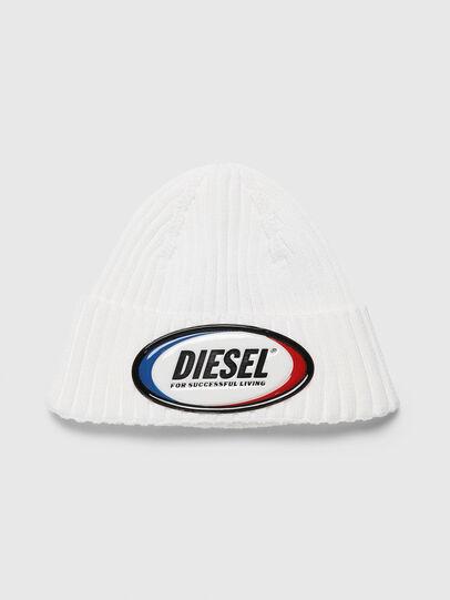 Diesel - K-DENNY, Weiß - Mützen - Image 1