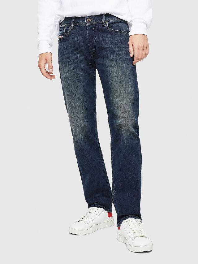 Diesel - Waykee 0814W, Dunkelblau - Jeans - Image 1