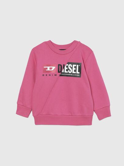 Diesel - SGIRKCUTYB-FL-R, Rosa - Sweatshirts - Image 1