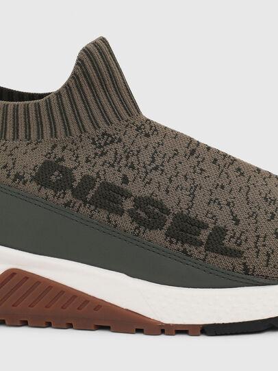 Diesel - S-KB SOCK QB, Olivgrün - Sneakers - Image 4