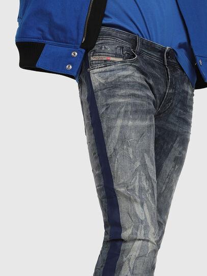 Diesel - Sleenker 069DH, Dunkelblau - Jeans - Image 3
