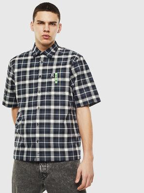 S-ATWOOD-A, Schwarz/Weiß - Hemden