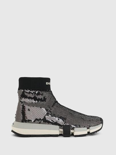 Diesel - H-PADOLA SOCK W, Schwarz - Sneakers - Image 1
