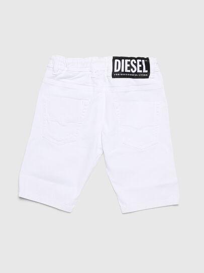 Diesel - KROOLEY-NE-J SH, Weiß - Kurze Hosen - Image 2