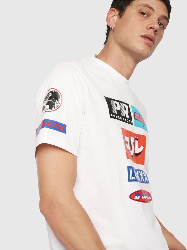 Diesel - T-JUST-YA, Weiß - T-Shirts - Image 4