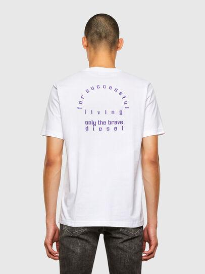 Diesel - T-JUST-N44, Weiß - T-Shirts - Image 2