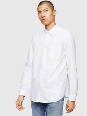 S-MOI-R-B1, Weiß - Hemden