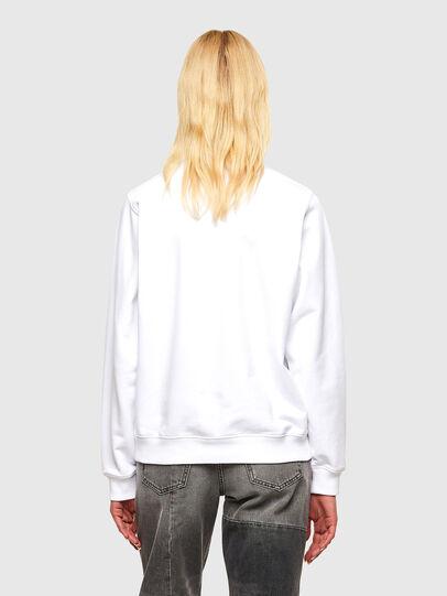 Diesel - F-ANG-R30, Weiß - Sweatshirts - Image 2