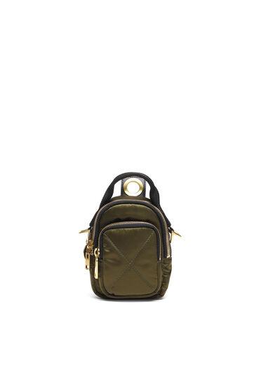 Mini-Crossbody-Tasche im Hybriddesign aus Nylon