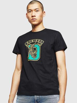 T-DIEGO-B4, Schwarz - T-Shirts