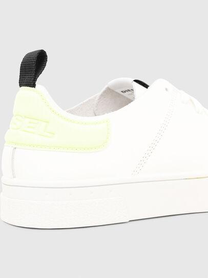 Diesel - S-CLEVER LS, Weiß/Gelb - Sneakers - Image 4