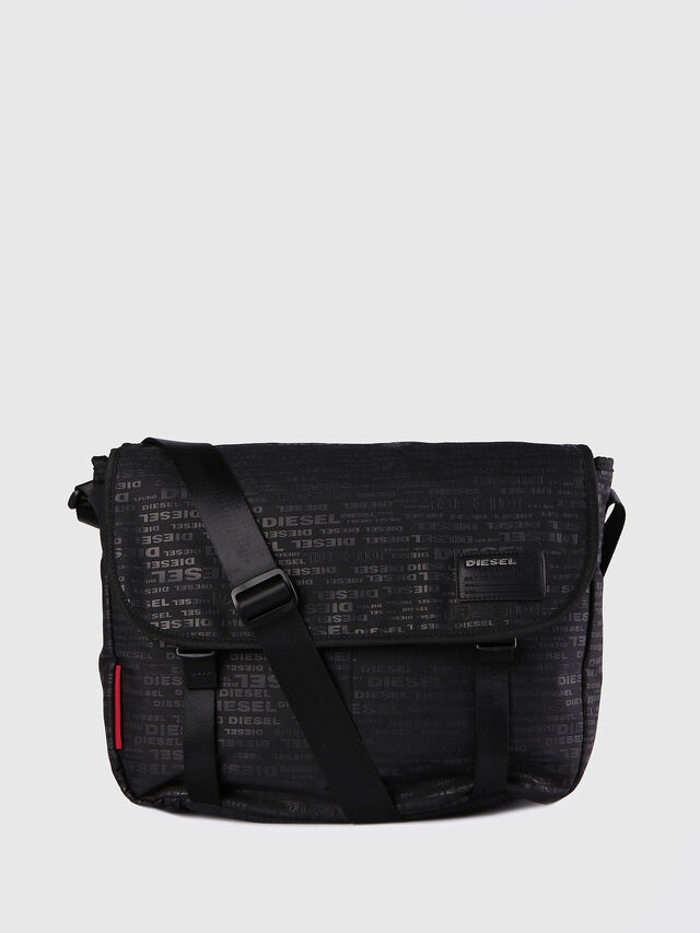 F-DISCOVER MESSENGER, Black/poppy red