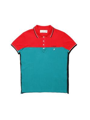 D-IHATEPOLOS, Grün/Rot - Polohemden