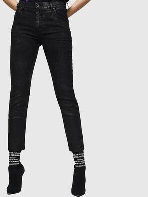 Krailey JoggJeans 084AG, Schwarz/Dunkelgrau - Jeans