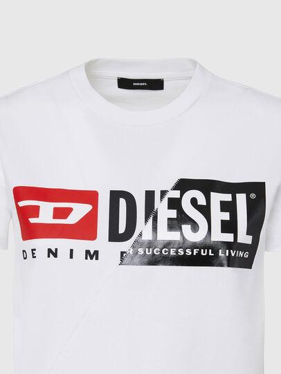Diesel - T-SILY-CUTY, Weiß - T-Shirts - Image 3
