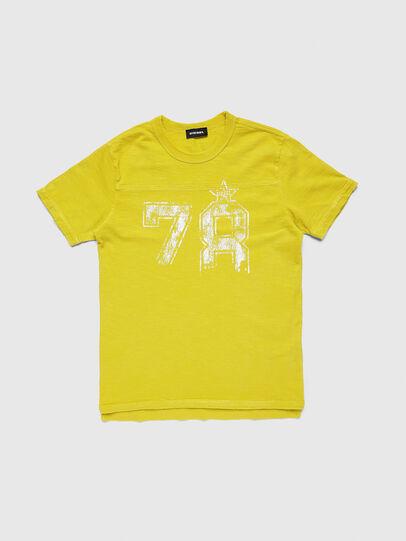 Diesel - TDIEGOCUTA, Gelb - T-Shirts und Tops - Image 1