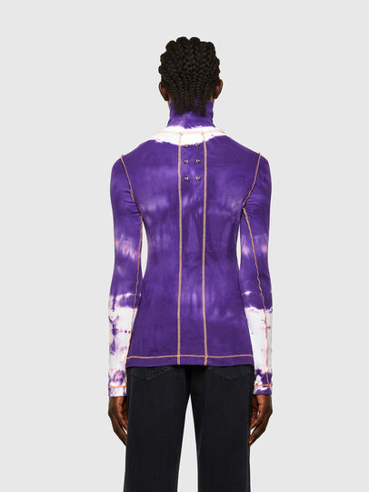 Diesel - T-LAPIS, Violett - T-Shirts - Image 2