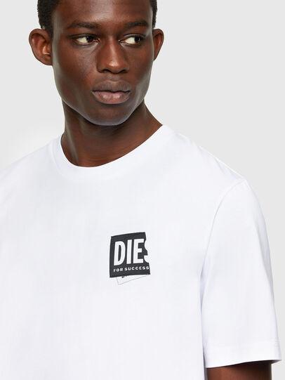 Diesel - T-JUST-LAB, Weiß - T-Shirts - Image 3