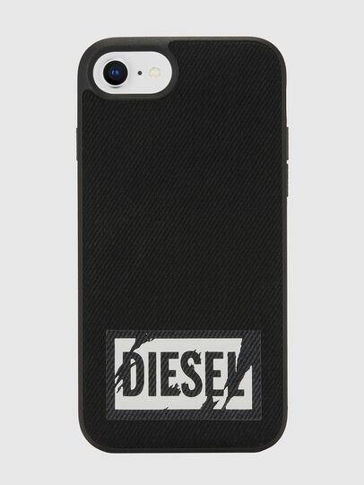 Diesel - BLACK DENIM IPHONE 8/7/6S/6 CASE, Schwarz - Schutzhüllen - Image 2