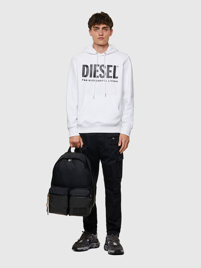 Diesel - BACKYO, Schwarz - Rucksäcke - Image 6