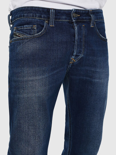 Diesel - Safado 0870F, Mittelblau - Jeans - Image 3