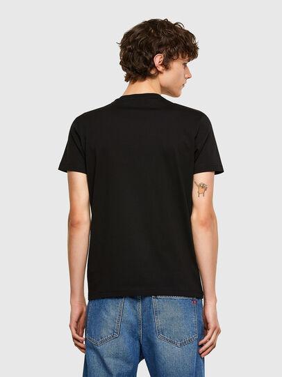 Diesel - T-DIEGOS-E32, Schwarz - T-Shirts - Image 2