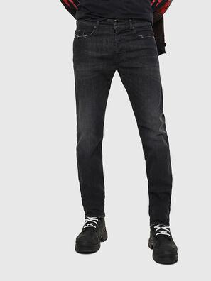 Buster 082AS, Schwarz/Dunkelgrau - Jeans