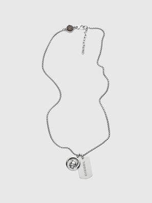 DX1209, Silber - Halsketten