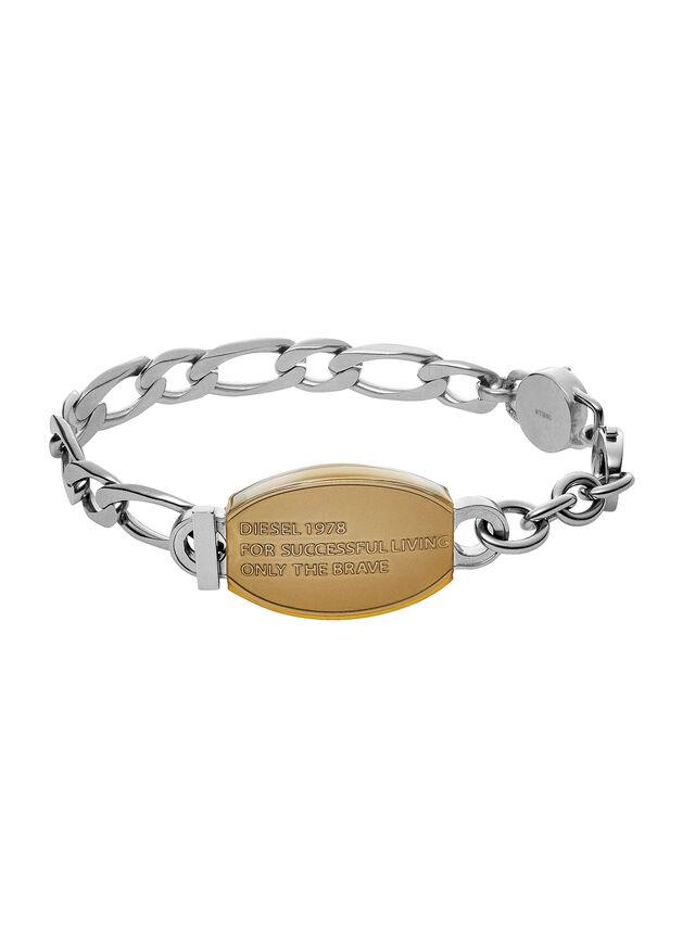 Diesel - BRACELET DX1054, Silber - Armbänder - Image 1