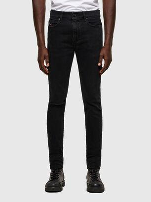 D-Amny 084ZN, Schwarz/Dunkelgrau - Jeans