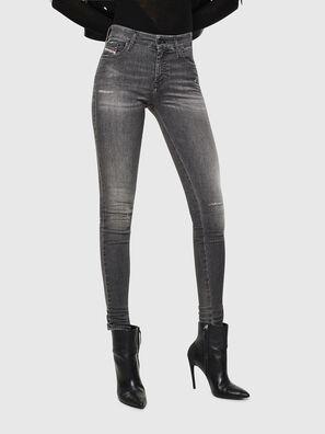 Slandy 083AJ, Schwarz/Dunkelgrau - Jeans