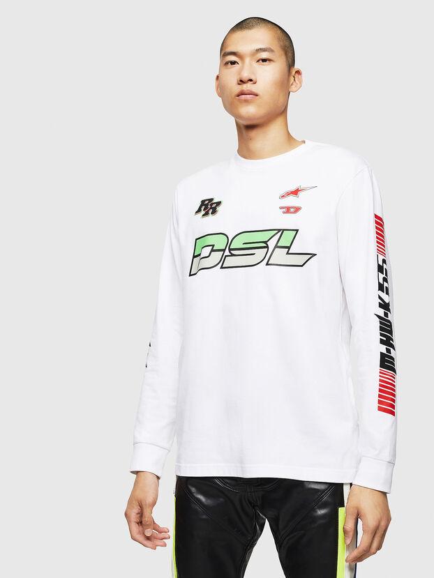 ASTARS-T-JUST-LONG, Weiß - T-Shirts