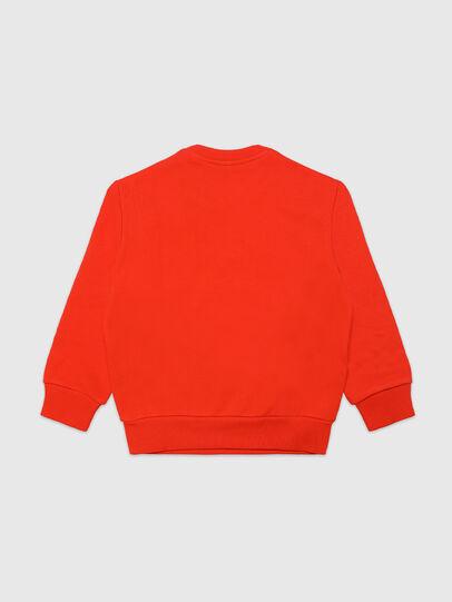 Diesel - SGIRKA74 OVER, Orange - Sweatshirts - Image 2