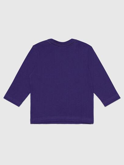 Diesel - TJUSTLOGOB-FL ML, Violett - T-Shirts und Tops - Image 2