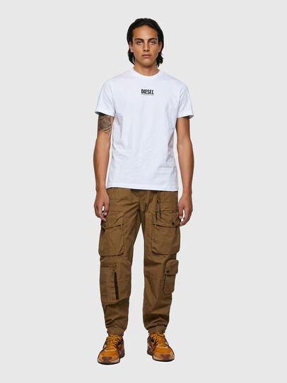 Diesel - T-DIEGOS-ECOSMALLOGO, Weiß - T-Shirts - Image 4