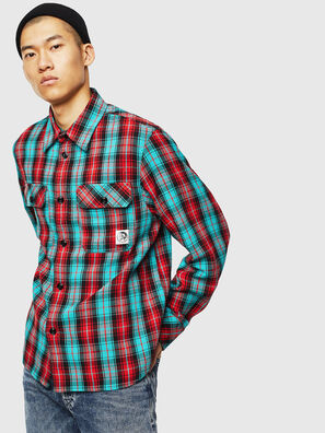 S-GERRY-CHECK, Rot - Hemden