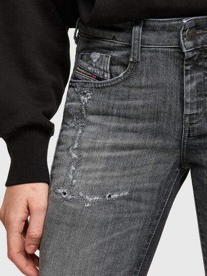 Diesel - D-Ollies JoggJeans® 009QT, Schwarz/Dunkelgrau - Jeans - Image 3
