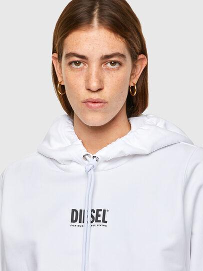 Diesel - F-ANG-HOOD-SMALLOGO, Weiß - Sweatshirts - Image 3
