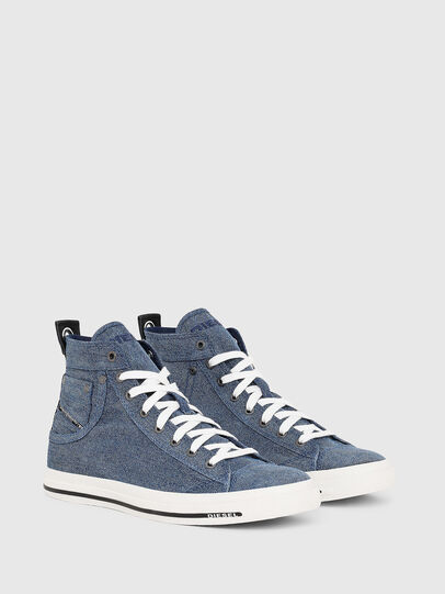 Diesel - EXPOSURE I, Jeansblau - Sneakers - Image 2