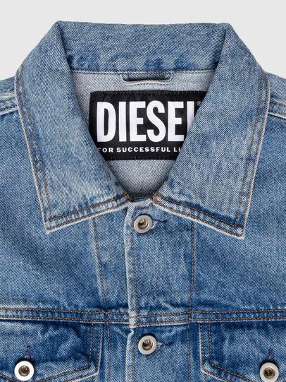 Diesel - US-NHILL-POP1, Mittelblau - Denim jacken - Image 5