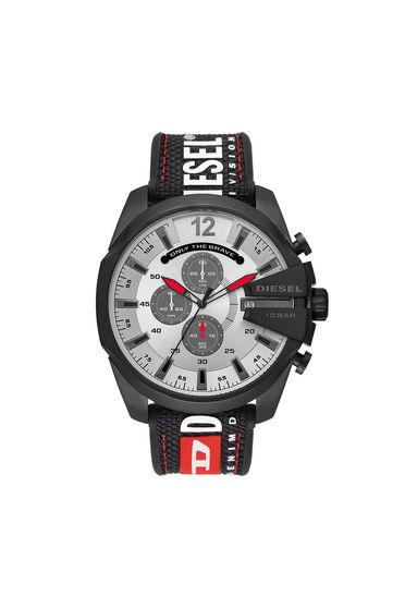 Mega Chief Armbanduhr mit Chronograph-Anzeige und schwarzem Nylonarmband